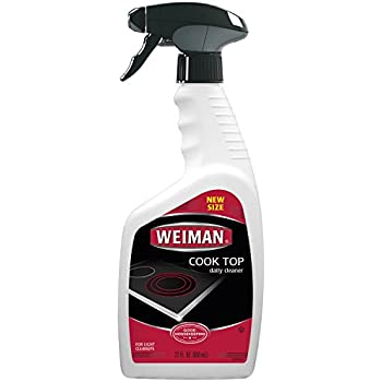 Weiman Cook Top Daily Cleaner – Streak Free, Residue Free, Non-abrasive formula, 22 fl. Oz