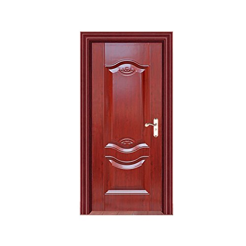 Factory direct supply Ruyi imitation anti convex interior steel door, molded fire door, strengthen ecological wooden door customization by 24 hours security protection