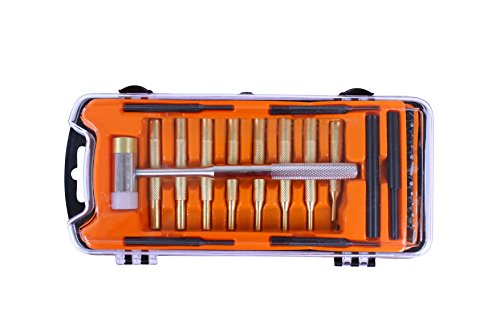 SPIKA Gun-care Hammer and Punches Set Gunsmithing Roll Pin Punch Set Tools Accessories by SPIKA