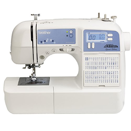 Brother XR9500PRW Project Runway Limited Edition Sewing Machine with 100 Built-in Stitches and Quilting Table