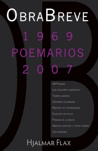 Obrabreve: 1969 (Poemarios) 2007 (Spanish Edition): Hjalmar Flax, La Editorial Universidad de Puerto Rico, Karolina Kohkemper: 9780847732524: Amazon.com: ...