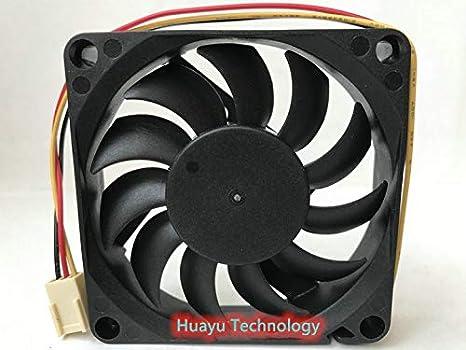 huayu for Y.S.TECH FD1270157B-1F 12V 3.12W 0.26A 3-Wire 7CM Cooling Fan