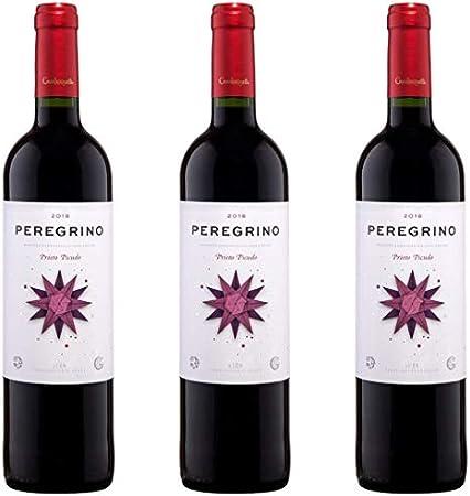 Peregrino Vino Tinto Joven - 3 botellas x 750ml - total: 2250 ml