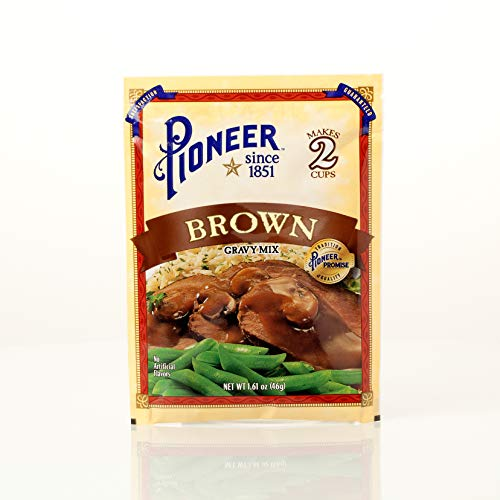 Pioneer Brown Gravy Mix, 1.61 Ounce (Pack of 12)