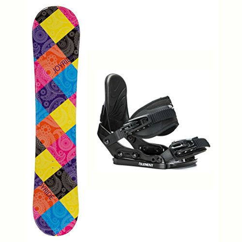 Ride Kids Snowboard Boots (Joyride Paisley Solstice Girls Snowboard and Binding Package - 135cm/Small)