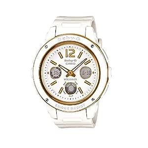 Casio Baby G Women BGA151-7B Year-Round Analog-Digital Automatic White Watch