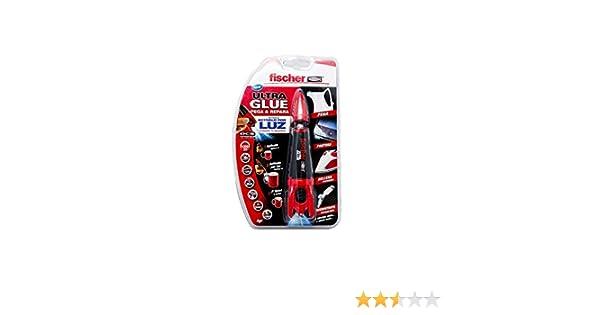 FISCHER 539084 Adhesivo Ultra Glue (Envase 4 gr), Trasparente: Amazon.es: Bricolaje y herramientas