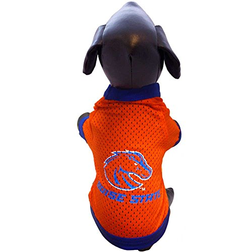 NCAA Boise State Broncos Athletic Mesh Dog Jersey (Team Color, Medium) ()