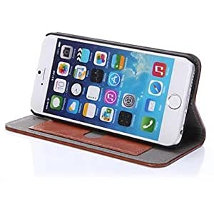 DK_iPhone 6 compatible Leather Case with Kickstand