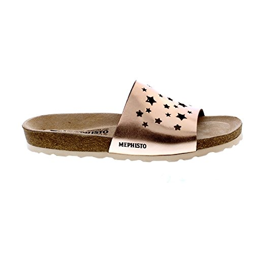 Mephisto Nora Star - Old Pink (Rose Gold) Womens Sandals Ivw4Gcv0