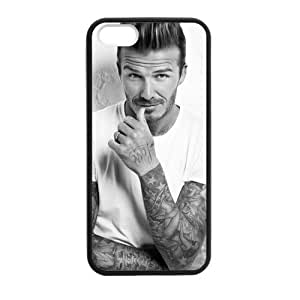 Custom David Beckham Design PC and TPU Phone Case Cover Laser Technology for iPhone 5,5S