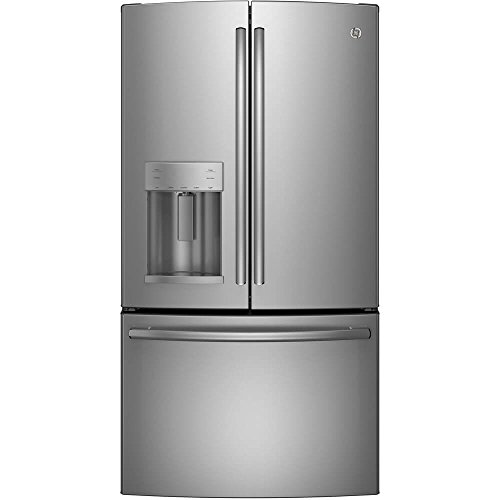 GE GFE26GSKSS 25.8 Cu. Ft. Stainless Steel French Door Refrigerator - Energy Star