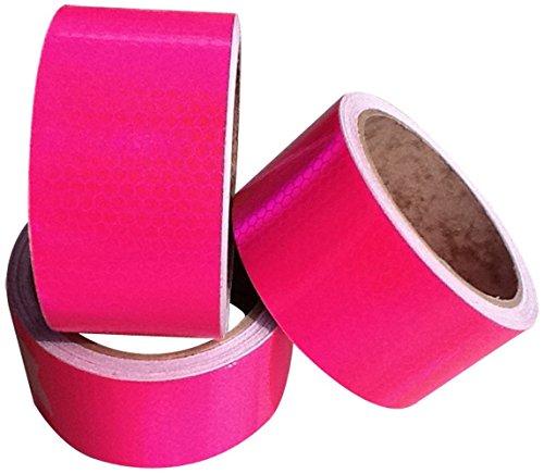 Direct Products Hi Viz Intensity Grade Pink Reflective Tape 50mm X 5M (Pink Reflective Tape)