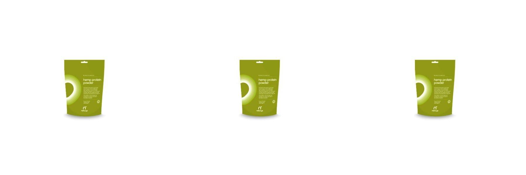 (3 PACK) - Naturya Organic Hemp Protein Powder| 300 g |3 PACK - SUPER SAVER - SAVE MONEY