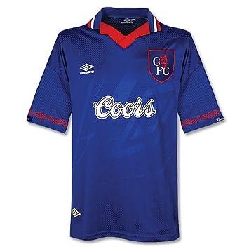 huge selection of 2edbd eadb4 94-95 Chelsea Home Shirt - Coors Sponsor - Grade 8 - XXL ...