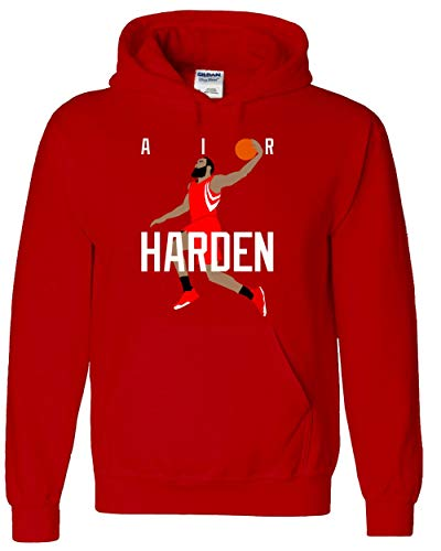 RED Houston Harden Air Pic Hooded Sweatshirt Adult