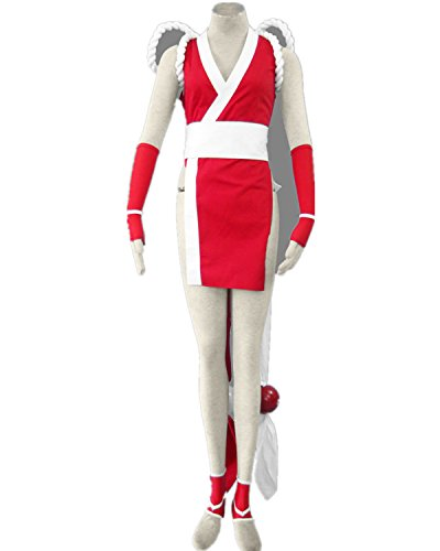 Snk Cosplay Costume (Love KOF Fatal Fury Mai Shiranui Cosplay Costume-8Pcs Set)