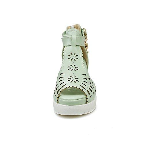 pour BalaMasa Vert Sandales clair femme rXw54qw