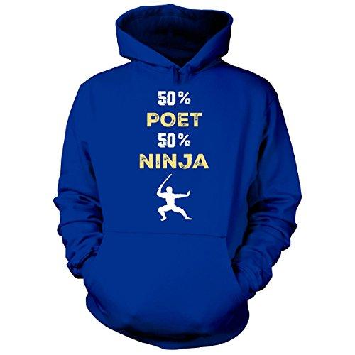 Amazon.com: Inked Creatively 50% Poet 50% Ninja Cool Gift ...