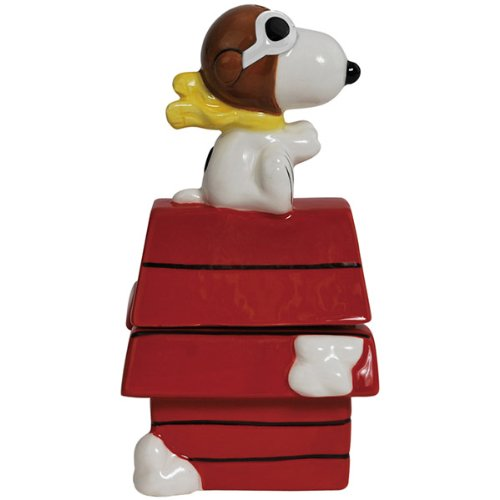 Westland Giftware Flying Ace on Doghouse Salt and Pepper Shakers by Westland Giftware