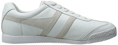 Gola Hombres Harrier Mono Fashion Sneaker Blanco