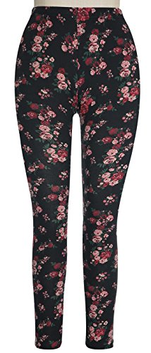 Capelli New York Garden Floral Jersey Legging Pink Combo - Jersey Mall Gardens