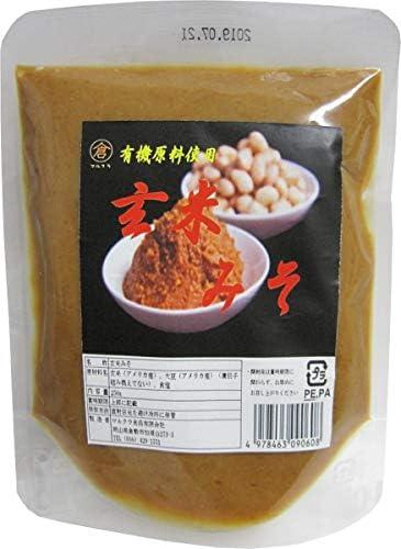 マルクラ食品 有機原料使用 玄米みそ 250g