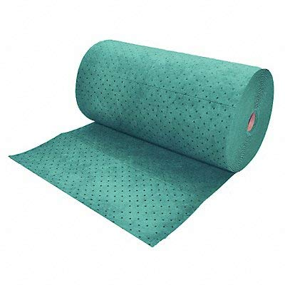 Absorbent Roll, Green, 49.7 gal, 32 In. W