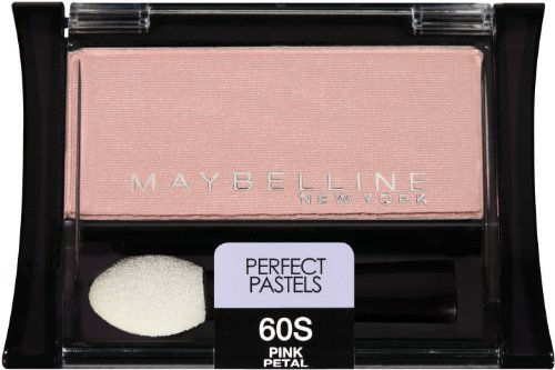 Eye Shadow Petal (Maybelline New York Expert Wear Eyeshadow Singles, Perfect Pastels 60s Pink Petal, 0.09)
