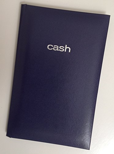 Mead Cash Book - 7-15/16 x 5-1/8 inches - 144 Pages - Blue