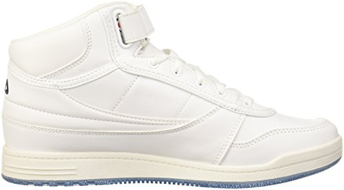 Fila Mens Bbn 84 Sneakers Mid Fashion Bianco, Fila Navy, Rosso Fila