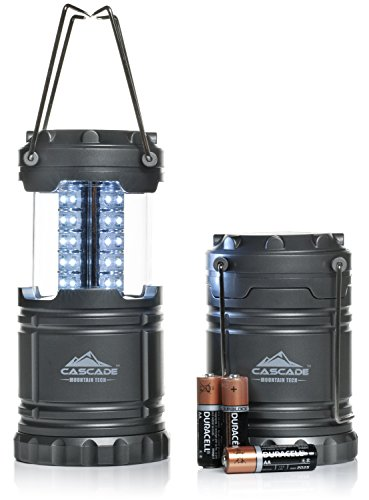 Pop Up Led Lantern  2 Pack  Perfect Lighting For Camping  Bbqs And Emergency Light