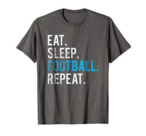 Eat Sleep Football Repeat T-Shirt Football Shirt