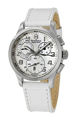 Victorinox Swiss Army Women's 241321 Alliance Mother of Pearl Chronograph Dial Watch Watch ()