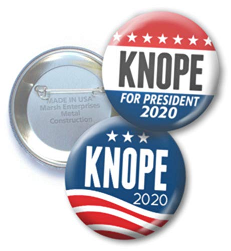2-Pack Buttons Knope for President - 2.25
