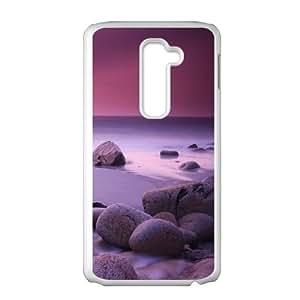Beach LG G2 Cell Phone Case White vtma