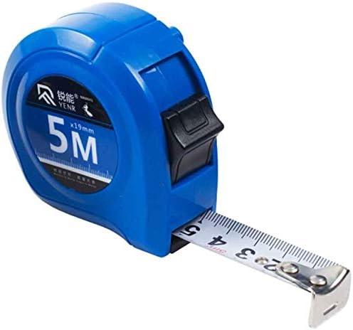 JTWJ Telescopic Steel Tape Ruler Scale Precision Measuring Scale Metric Ruler Carpenter (Size : 5M)