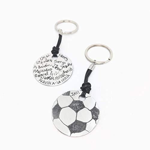 Llavero personalizado pelota