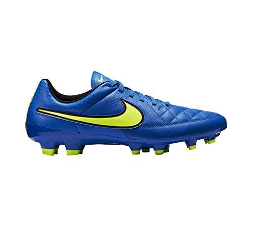 Nike Tiempo Genio Leather FG - Zapatillas de fútbol para hombre soar/volt-black