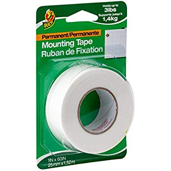 Amazon Com Duck Brand Permanent Foam Mounting Tape