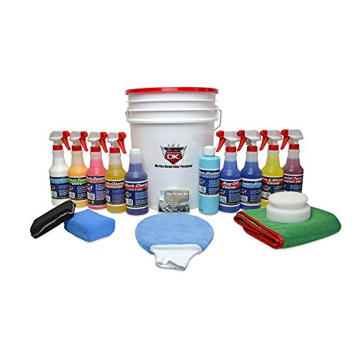 Detail King Deluxe Car Care Kit Gift Bucket