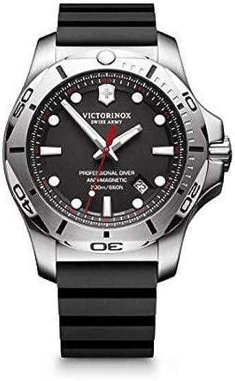 Victorinox Hombre I.N.O.X. Professional Diver - Reloj de Caucho/Acero Inoxidable de Cuarzo analógico de fabricación Suiza 241733