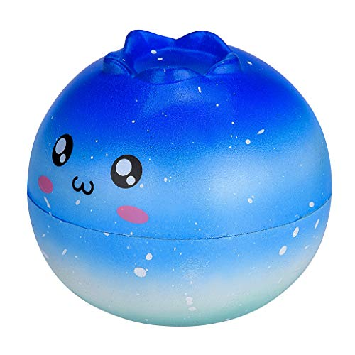 Boys Girls Baby Squishies Galaxy Cute Cartoon Slow Rising Fruit Scented Stress Relief Toys for Kids and Adults