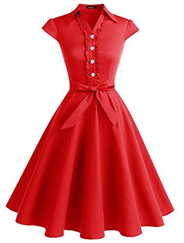 vintage cotton dresses - 8