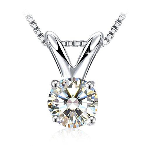 Necklace, 925 Sterling Silver Pendant Necklace J.Rosée Fine Jewelry