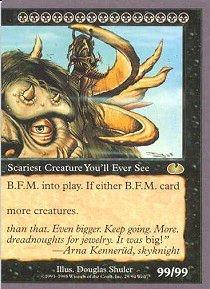 (Magic: the Gathering - B.F.M. 2 (Big Furry Monster) -)