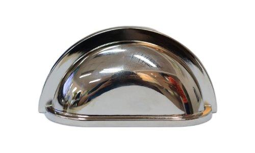 Polished Nickel Bin Pull - 9