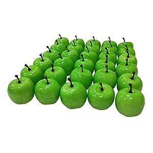 "Lorigun 30pcs Artificial Lifelike Simulation 1.3"" Mini Pears Fake Fruits Photography Props Model 5"