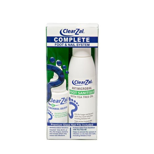 ClearZal Complete Foot & Nail System Kit