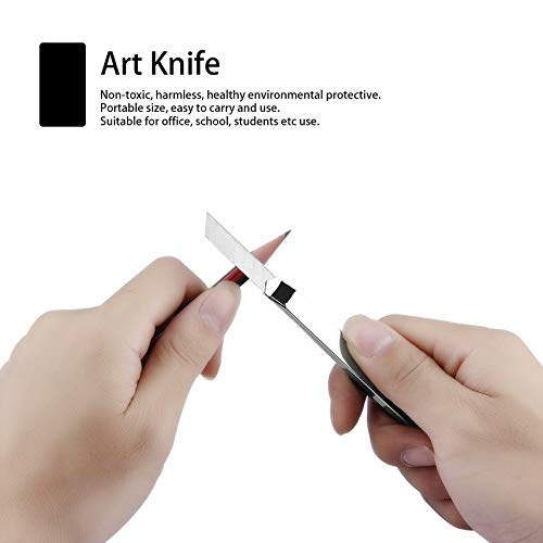 6101 Stainless Stell Art Knife Art Supplies Office Students School Paper Art DIY Knife Cutter School Accessories